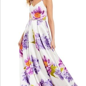 B. Darlin, floral gown